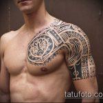 ЭТНИЧЕСКИЕ ТАТУИРОВКИ №454 - уникальный вариант рисунка, который успешно можно использовать для переработки и нанесения как этнические татуировки воина