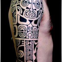 Фото этнических тату