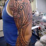 ЭТНИЧЕСКИЕ ТАТУИРОВКИ №788 - уникальный вариант рисунка, который удачно можно использовать для преобразования и нанесения как этнические татуировки славян