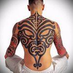 ЭТНИЧЕСКИЕ ТАТУИРОВКИ №580 - интересный вариант рисунка, который успешно можно использовать для преобразования и нанесения как этнические татуировки воина