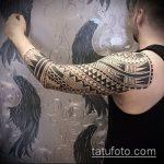 ЭТНИЧЕСКИЕ ТАТУИРОВКИ №29 - классный вариант рисунка, который успешно можно использовать для переработки и нанесения как этнические татуировки женские