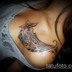 ЭТНИЧЕСКИЕ ТАТУИРОВКИ №485 - классный вариант рисунка, который хорошо можно использовать для преобразования и нанесения как этнические татуировки на спине