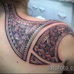 ЭТНИЧЕСКИЕ ТАТУИРОВКИ №27 - эксклюзивный вариант рисунка, который удачно можно использовать для доработки и нанесения как этнические татуировки на предплечье