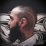 ЭТНИЧЕСКИЕ ТАТУИРОВКИ №419 - прикольный вариант рисунка, который удачно можно использовать для преобразования и нанесения как этнические татуировки на предплечье