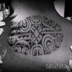 ЭТНИЧЕСКИЕ ТАТУИРОВКИ №936 - классный вариант рисунка, который удачно можно использовать для переработки и нанесения как этнические татуировки на спине
