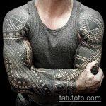 ЭТНИЧЕСКИЕ ТАТУИРОВКИ №437 - прикольный вариант рисунка, который удачно можно использовать для доработки и нанесения как этнические тату браслеты