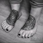 ЭТНИЧЕСКИЕ ТАТУИРОВКИ №765 - интересный вариант рисунка, который удачно можно использовать для преобразования и нанесения как этнические татуировки женские