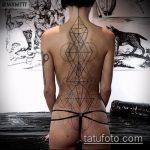 ЭТНИЧЕСКИЕ ТАТУИРОВКИ №215 - уникальный вариант рисунка, который успешно можно использовать для переделки и нанесения как этнические татуировки славян