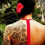 ЭТНИЧЕСКИЕ ТАТУИРОВКИ №409 - классный вариант рисунка, который легко можно использовать для переделки и нанесения как этнические татуировки