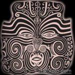 ЭТНИЧЕСКИЕ ТАТУИРОВКИ №37 - интересный вариант рисунка, который успешно можно использовать для переделки и нанесения как этнические татуировки женские