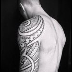 ЭТНИЧЕСКИЕ ТАТУИРОВКИ №788 - эксклюзивный вариант рисунка, который удачно можно использовать для доработки и нанесения как этнические татуировки славян