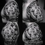 ЭТНИЧЕСКИЕ ТАТУИРОВКИ №605 - эксклюзивный вариант рисунка, который удачно можно использовать для переработки и нанесения как этнические татуировки славян