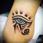 глаз гора тату №196 - эксклюзивный вариант рисунка, который хорошо можно использовать для доработки и нанесения как тату глаз гора значение для женщин