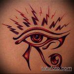 глаз гора тату №80 - интересный вариант рисунка, который успешно можно использовать для переработки и нанесения как глаз гора тату на запястье