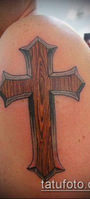 фото латинский крест тату (Tattoo) (значение) – пример рисунка – 025 tatufoto.com