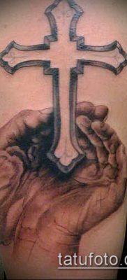 фото латинский крест тату (Tattoo) (значение) – пример рисунка – 026 tatufoto.com