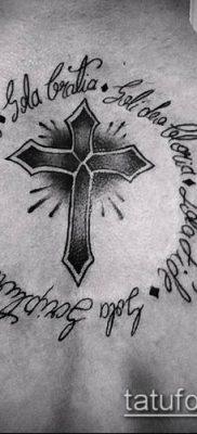 фото латинский крест тату (Tattoo) (значение) – пример рисунка – 031 tatufoto.com