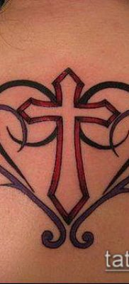 фото латинский крест тату (Tattoo) (значение) – пример рисунка – 033 tatufoto.com