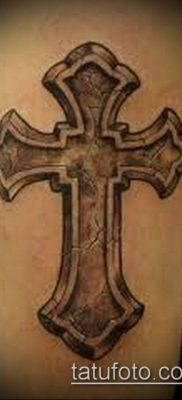 фото латинский крест тату (Tattoo) (значение) – пример рисунка – 040 tatufoto.com