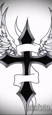фото латинский крест тату (Tattoo) (значение) – пример рисунка – 041 tatufoto.com