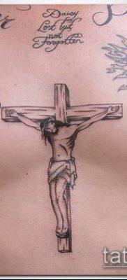 фото латинский крест тату (Tattoo) (значение) – пример рисунка – 050 tatufoto.com