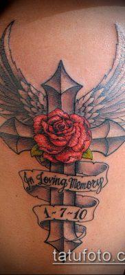 фото латинский крест тату (Tattoo) (значение) – пример рисунка – 056 tatufoto.com