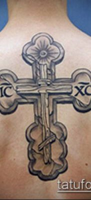 фото латинский крест тату (Tattoo) (значение) – пример рисунка – 058 tatufoto.com