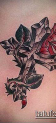 фото латинский крест тату (Tattoo) (значение) – пример рисунка – 061 tatufoto.com