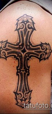 фото латинский крест тату (Tattoo) (значение) – пример рисунка – 069 tatufoto.com