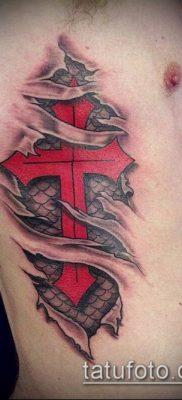 фото латинский крест тату (Tattoo) (значение) – пример рисунка – 070 tatufoto.com