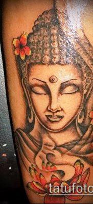 фото тату Будда (Buddha tattoo) (значение) – пример рисунка – 003 tatufoto.com