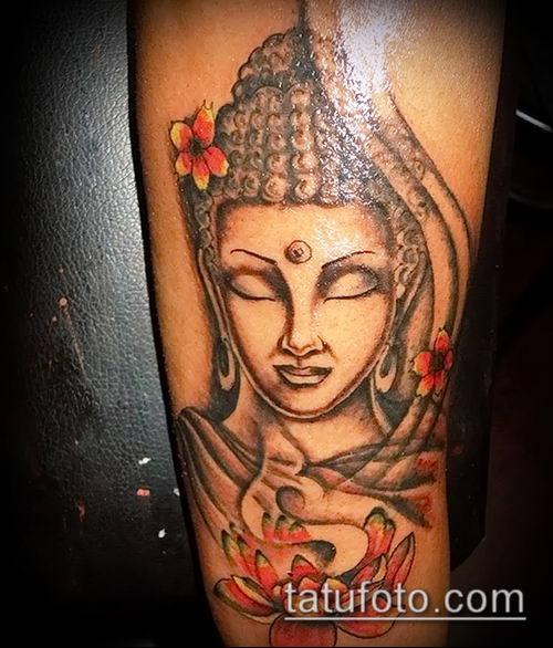 фото тату Будда (Buddha tattoo) (значение) - пример рисунка - 003 tatufoto.com