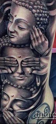 фото тату Будда (Buddha tattoo) (значение) – пример рисунка – 005 tatufoto.com
