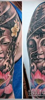 фото тату Будда (Buddha tattoo) (значение) – пример рисунка – 008 tatufoto.com
