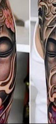 фото тату Будда (Buddha tattoo) (значение) – пример рисунка – 012 tatufoto.com