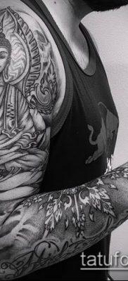 фото тату Будда (Buddha tattoo) (значение) – пример рисунка – 013 tatufoto.com