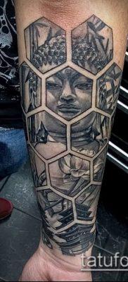фото тату Будда (Buddha tattoo) (значение) – пример рисунка – 014 tatufoto.com