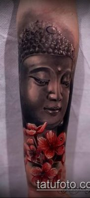 фото тату Будда (Buddha tattoo) (значение) – пример рисунка – 015 tatufoto.com
