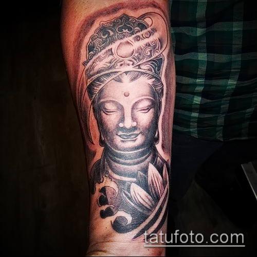 фото тату Будда (Buddha tattoo) (значение) - пример рисунка - 016 tatufoto.com