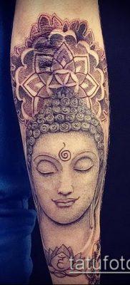 фото тату Будда (Buddha tattoo) (значение) – пример рисунка – 018 tatufoto.com