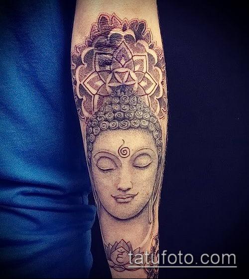 фото тату Будда (Buddha tattoo) (значение) - пример рисунка - 018 tatufoto.com