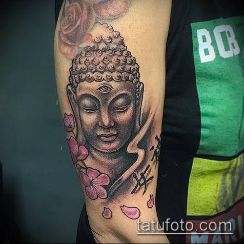 фото тату Будда (Buddha tattoo) (значение) - пример рисунка - 019 tatufoto.com
