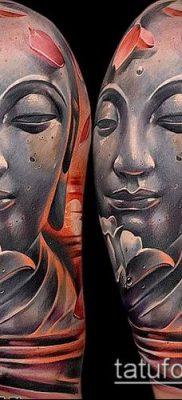 фото тату Будда (Buddha tattoo) (значение) – пример рисунка – 020 tatufoto.com
