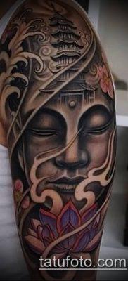 фото тату Будда (Buddha tattoo) (значение) – пример рисунка – 022 tatufoto.com