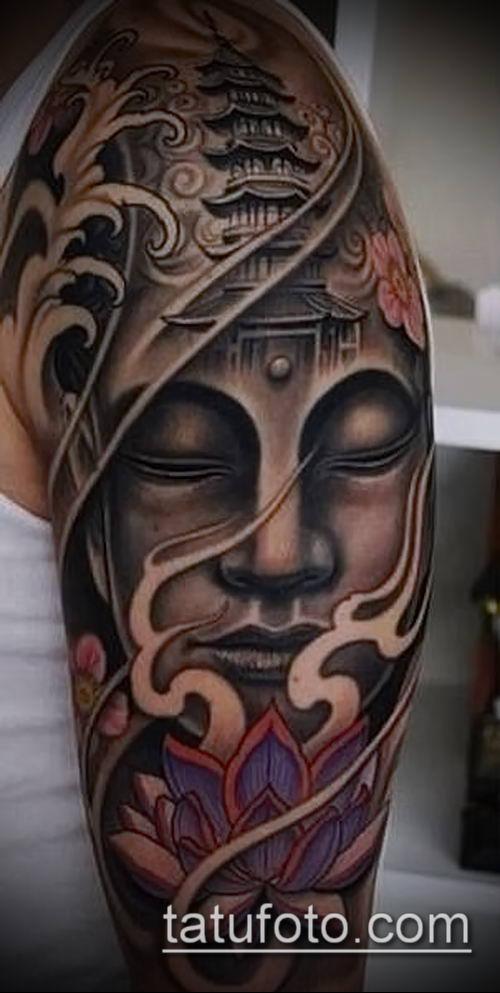 фото тату Будда (Buddha tattoo) (значение) - пример рисунка - 022 tatufoto.com