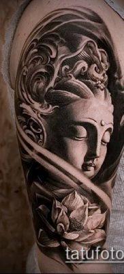 фото тату Будда (Buddha tattoo) (значение) – пример рисунка – 023 tatufoto.com