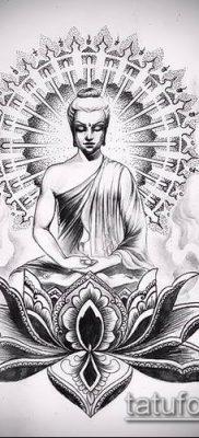 фото тату Будда (Buddha tattoo) (значение) – пример рисунка – 024 tatufoto.com