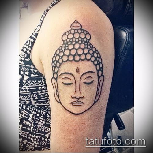 фото тату Будда (Buddha tattoo) (значение) - пример рисунка - 025 tatufoto.com