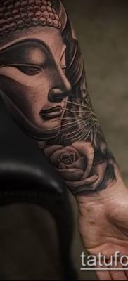 фото тату Будда (Buddha tattoo) (значение) – пример рисунка – 026 tatufoto.com