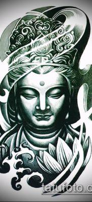 фото тату Будда (Buddha tattoo) (значение) – пример рисунка – 027 tatufoto.com